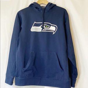 Nike Seahawks Therma Fit Hoodie M